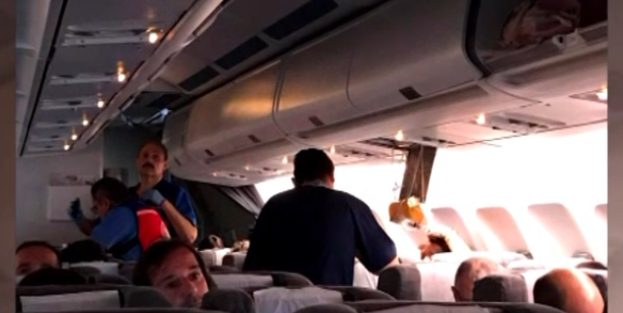 Ocho heridos por turbulencia en un vuelo de Aerolíneas Argentinas