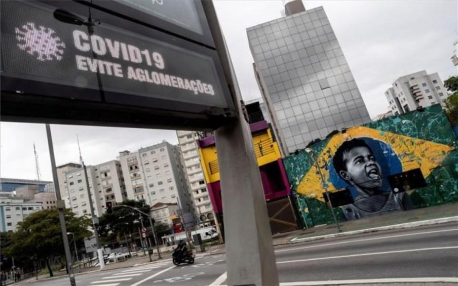 Brasil es el país más afectado por el coronavirus en Latinoamérica
