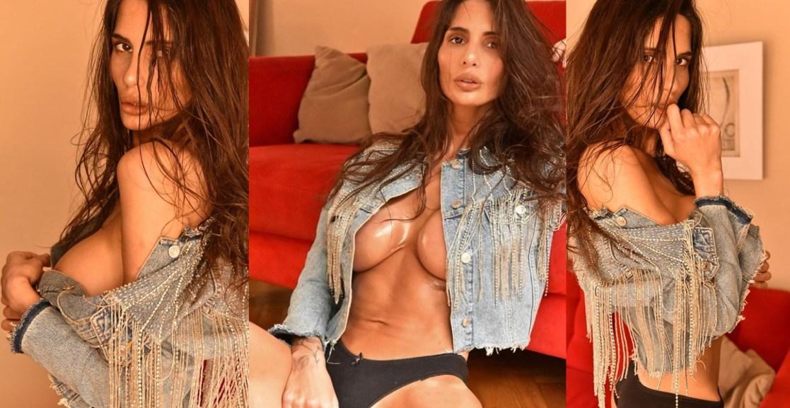 Instagram censuró fotos de Magalí Mora y la modelo redobló la apuesta (Imagen INstagram @magalimoraok)