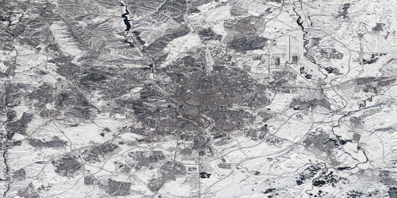 La nevada en Madrid