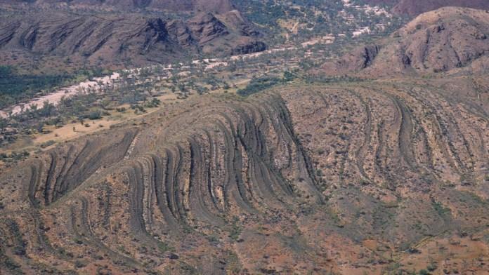 Placas tectonicas en Australia