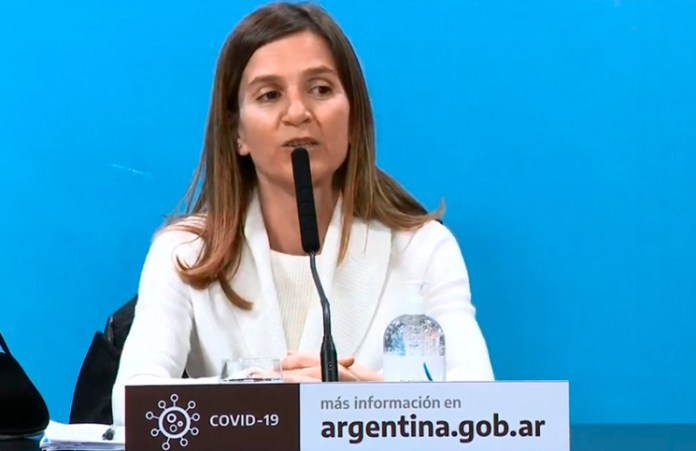 La directora ejecutiva de la ANSES, Fernanda Raverta, explicó qué se tomará en cuenta para el tercer pago del Ingreso Familiar de Emergencia.