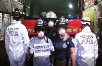 Coronavirus: aislaron a 6 bomberos en un cuartel de Pacheco