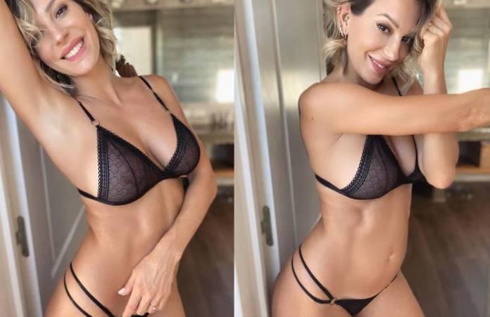 Noelia Marzol se grabó frente al espejo y en lencería (muy jugada)