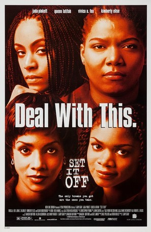 set it off 1996 movie posters