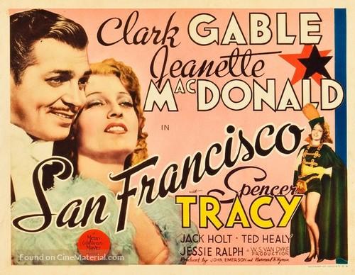Image result for SAN FRANCISCO MOVIE POSTER