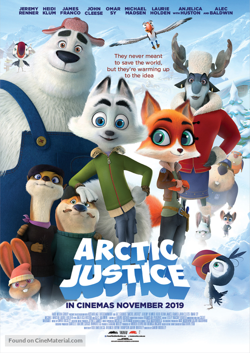 Image result for arctic justice poster