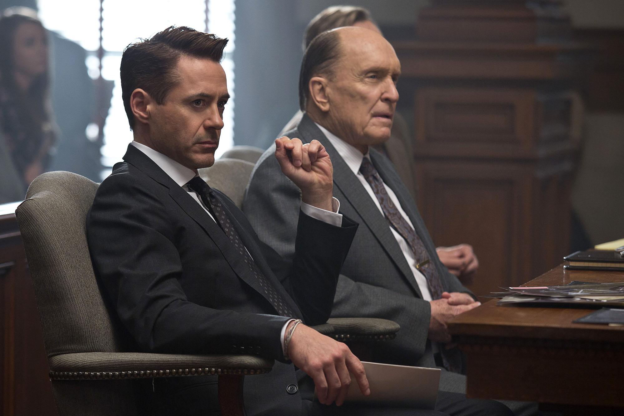 """Reseña de """"El juez"""", con Robert Downey Jr. y Robert Duvall"""