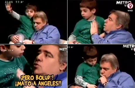 Resultado de imagen para imagenes angeles pierri hijo boludo