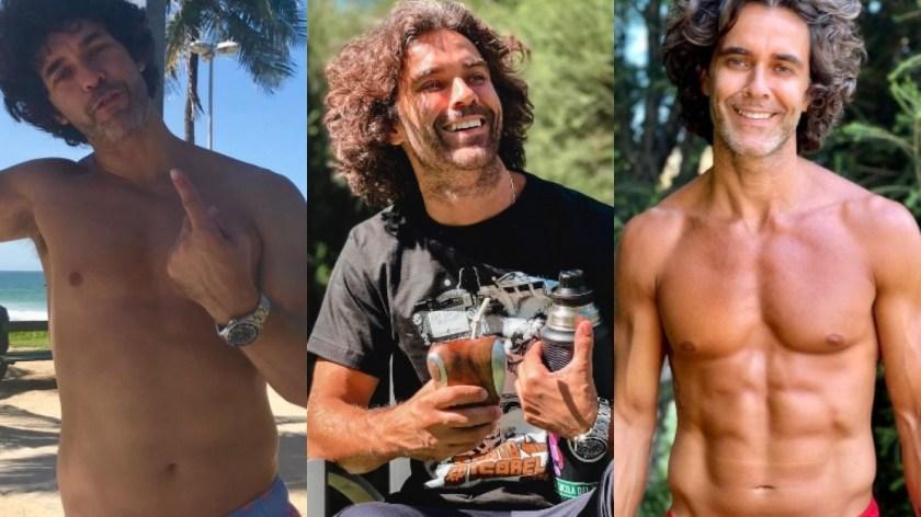 Mariano Martínez mostró su increíble transformación física (Fotos: Instagram)