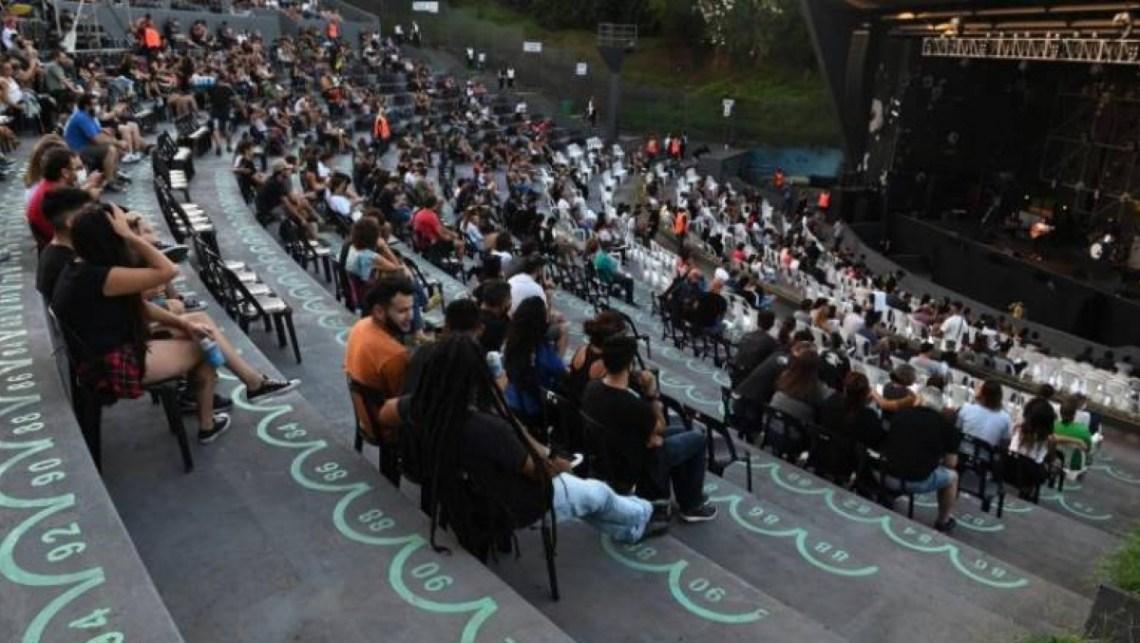 La vuelta de Divididos frente al público fue una fiesta en Rosario - Ciudad Magazine