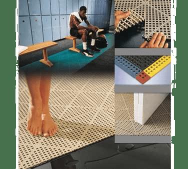 cactus mat 2554 t dri dek snap together tile