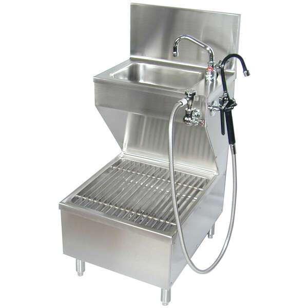 imc teddy cms combination hand mop sink