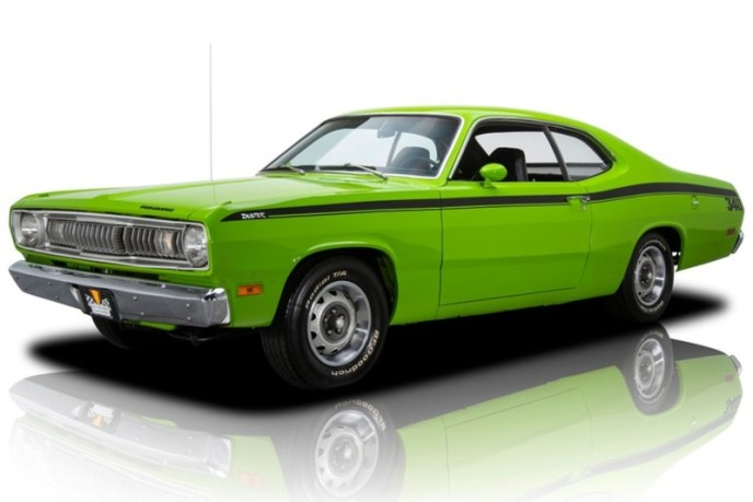 1971 Plymouth Duster Color Chart