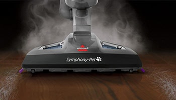 bissell symphony pet model 1543a steam