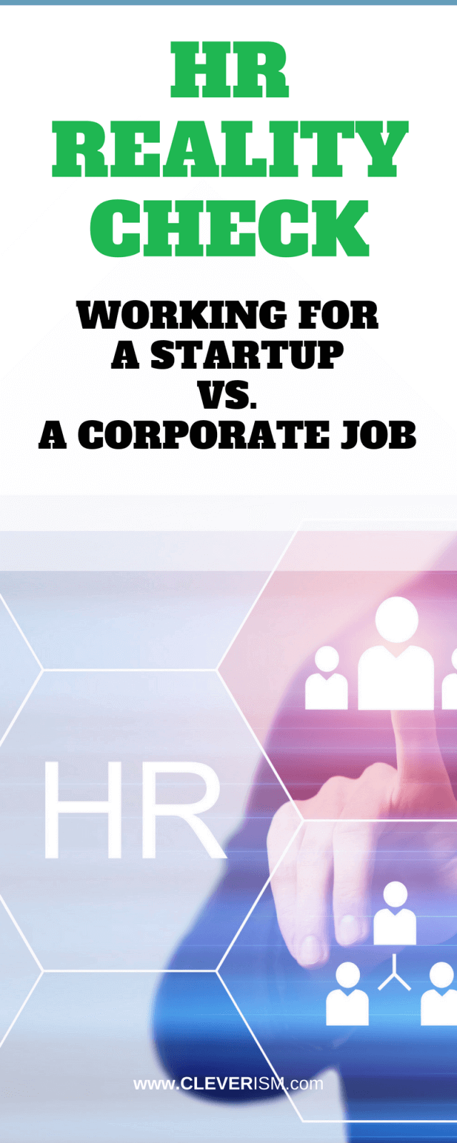 HR Reality Check | Working For A Startup Vs  A Corporate Job