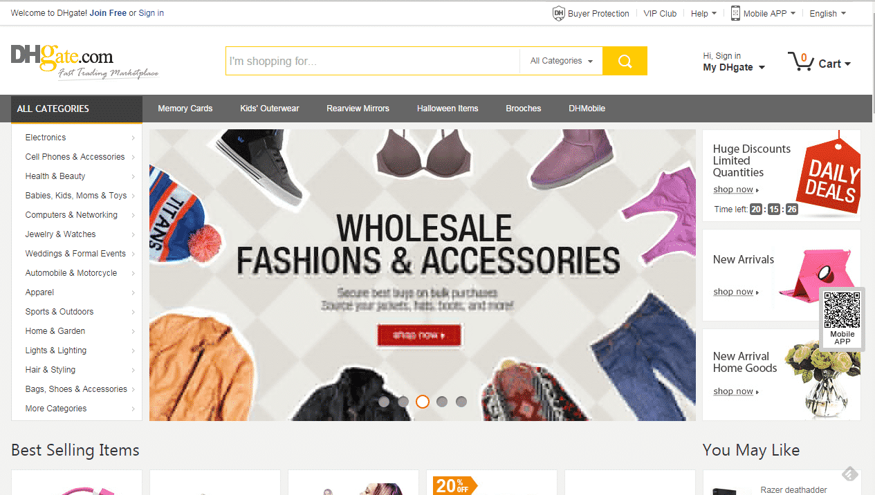 cf252291eba7c DHgate | Strategies for selling your products online
