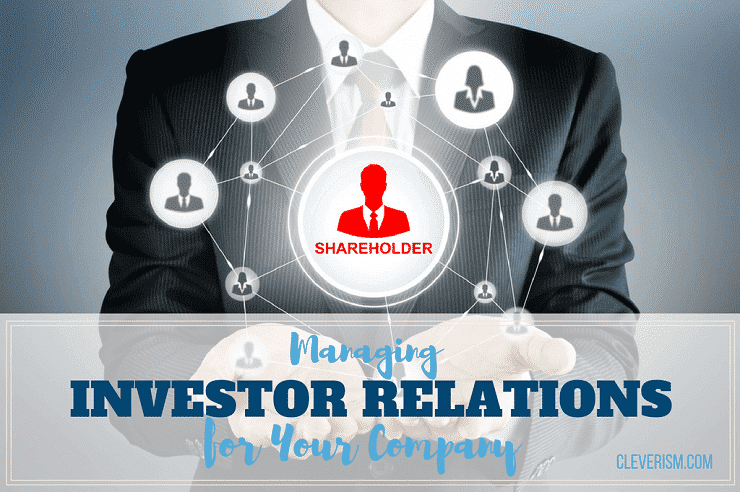 managing investor relations for your company