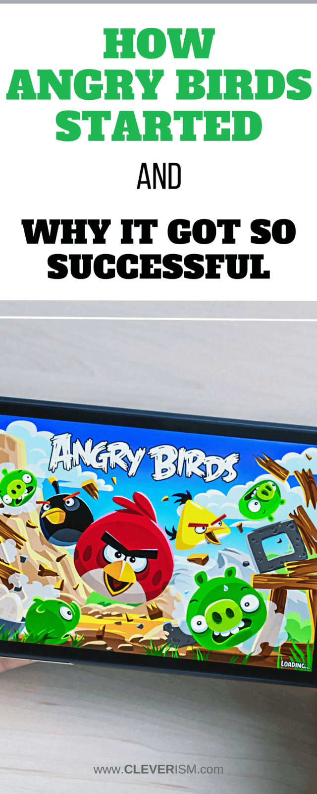 How Angry Birds Started and Why It Got So Successful