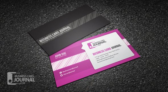 75 free business card templates that are stunning beautiful 16 creative speech bubble business card template friedricerecipe Images