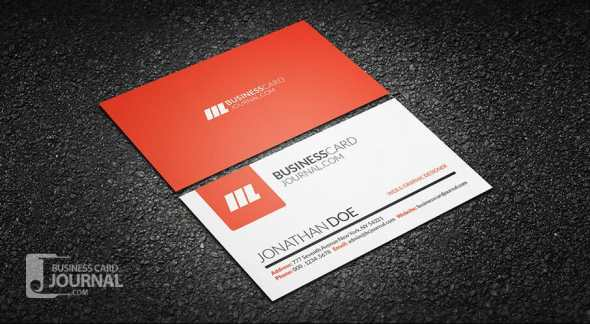 75 free business card templates that are stunning beautiful 29 simple and clean creative business card template fbccfo Image collections
