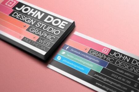 75 Free Business Card Templates That Are Stunning Beautiful 32 creative business card template v2