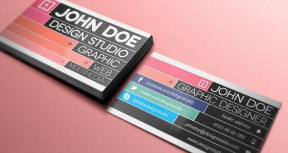 75 free business card templates that are stunning beautiful 32 creative business card template v2 accmission Choice Image