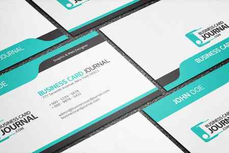 75 Free Business Card Templates That Are Stunning Beautiful 41 cool blue creative business card template