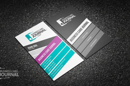 75 Free Business Card Templates That Are Stunning Beautiful 43 stylish and creative vertical business card template