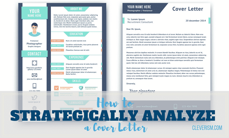 How to Strategically Analyze a Cover Letter