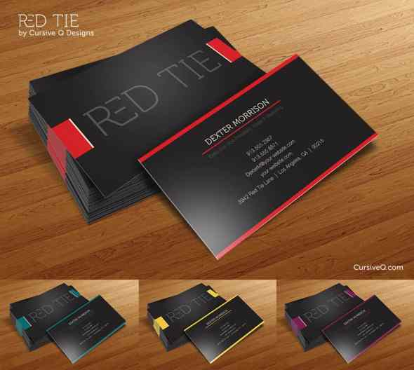 52-red-tie-business-card-template