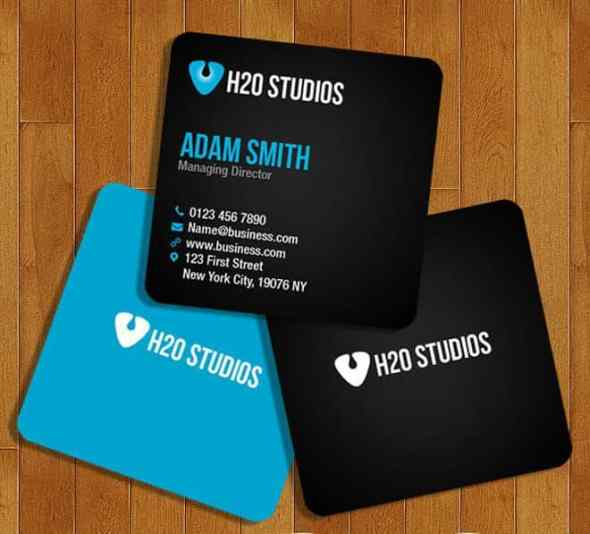 75 free business card templates that are stunning beautiful 73 square business card template wajeb Image collections