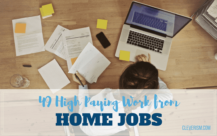 49 High-Paying Work-From-Home Jobs