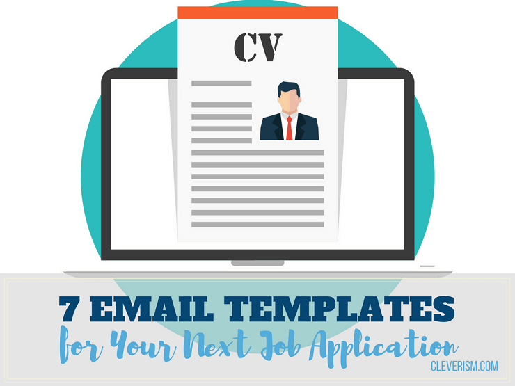 email cover letter for job application format