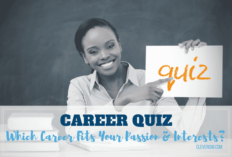 graphic regarding Career Interest Survey Printable named Occupation Quiz: Which Job Satisfies Your Pion and Pursuits