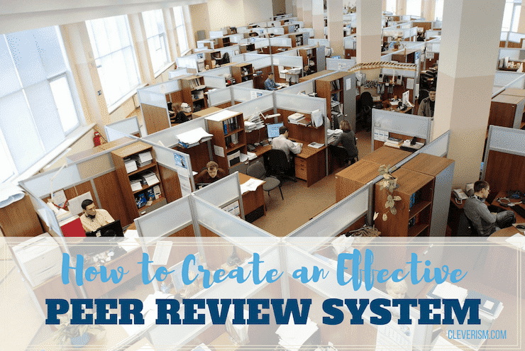 How to Create an Effective Peer Review System