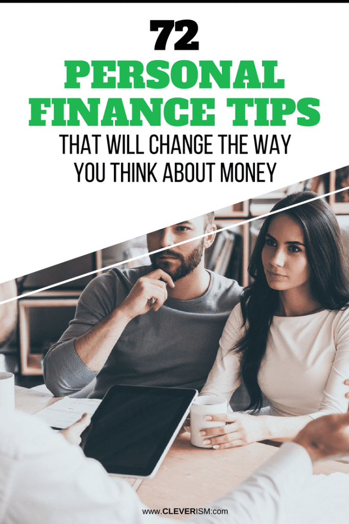 72 Personal Finance Tips That Will Change the Way You Think About Money