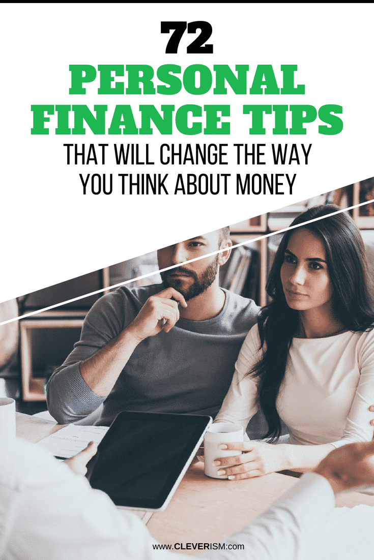 72 Personal Finance Tips That Will Change the Way You Think About Money - #PersonalFinance #MoneyThinking #Cleverism