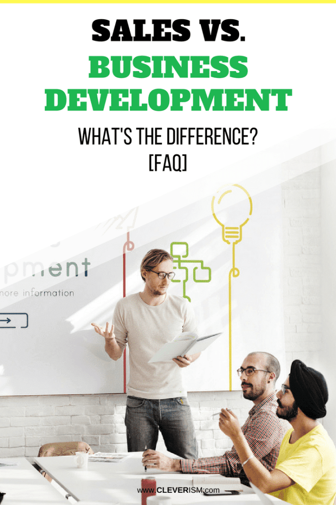 Sаlеѕ vs. Business Development: What's the Diffеrеnсе? [FAQ]
