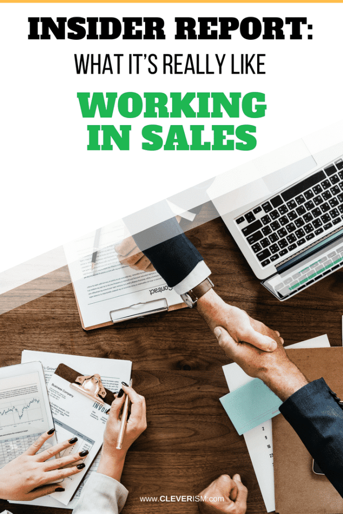 Insider Report: What It's Really Like Working in Sales