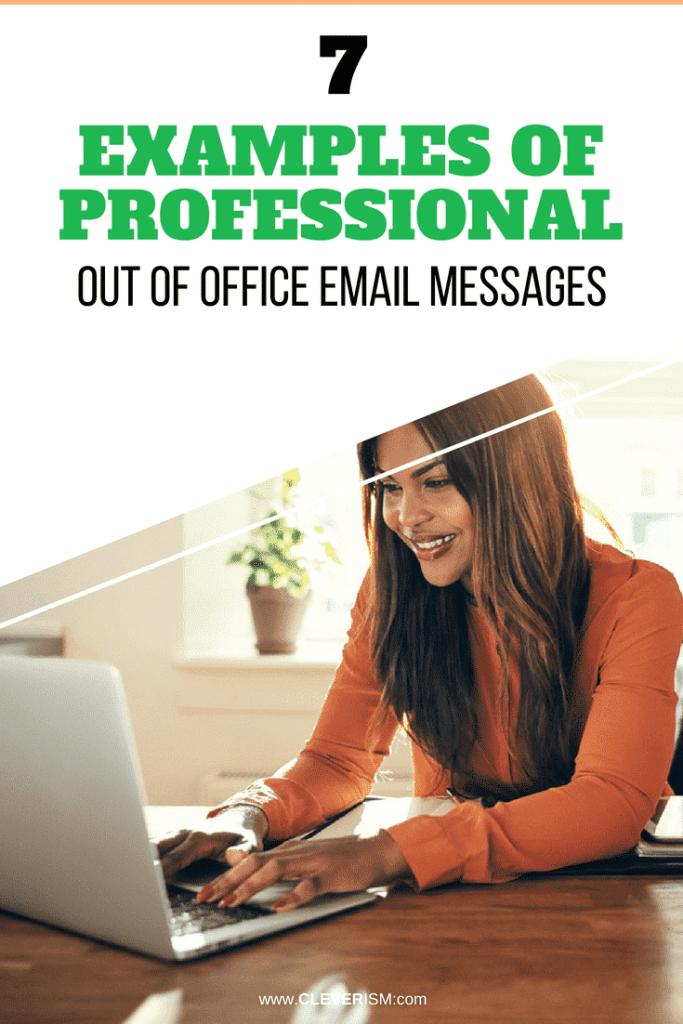 8 Examples of Professional Out of Office Email Messages