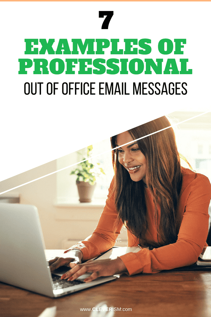 7 Examples of Professional Out of Office Email Messages - #Email #OutOfOfficeEmail #ProfessionalEmail #Cleverism