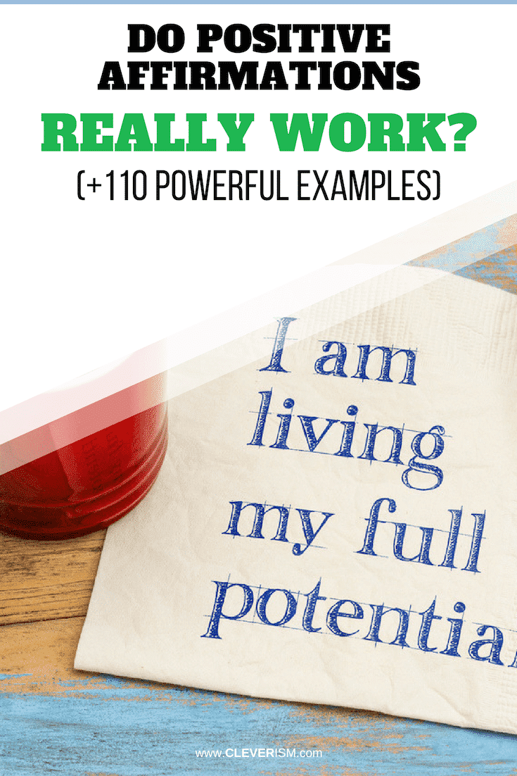 Do Positive Affirmations Really Work? (+110 Powerful Examples) - #PositiveAffirmations #ExamplesOfPositiveAffirmations #Cleverism