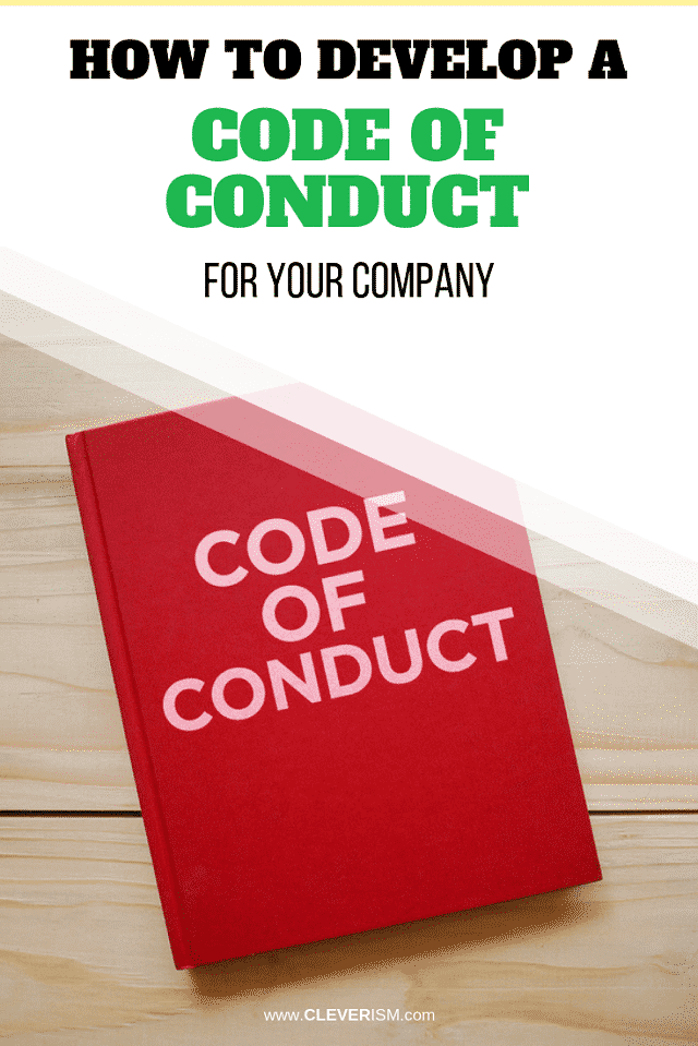 How to Develop a Code of Conduct for Your Company - #CodeOfConduct #Cleverism
