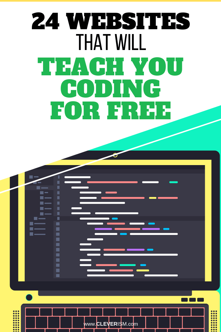 24 Websites That Will Teach You Coding for Free - #Coding #LearningCoding #Cleverism