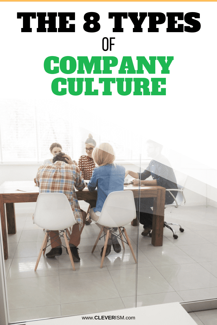 The 8 Types of Company Culture - #CompanyCulture #TypesOfCompanyCulture #Cleverism