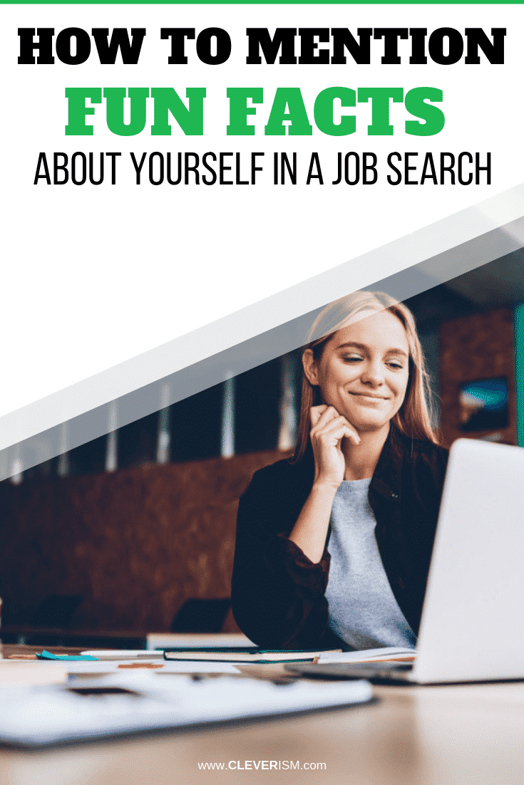 How to Mention Fun Facts About Yourself in a Job Search - #JobSearch #FunFactsAboutYourselfInJobSearch #Cleverism