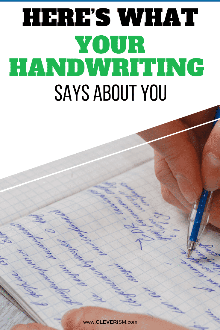 Here's What Your Handwriting Says About You - #Handwriting #WhatHandwritingSaysAboutYou #Cleverism