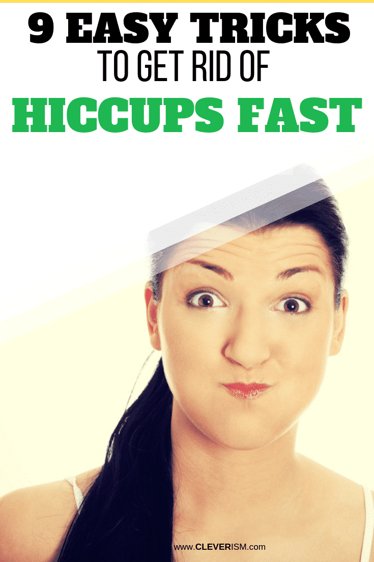 9 Easy Tricks to Get Rid of Hiccups FAST - #GetRidOfHiccups #Hiccups #Cleverism