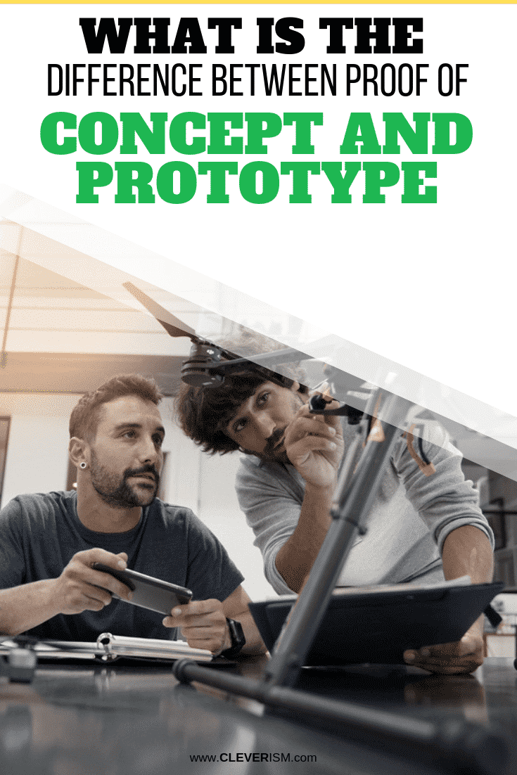 What is the Difference Between Proof of Concept and Prototype - #ProofOfConcept #Prototype #Cleverism